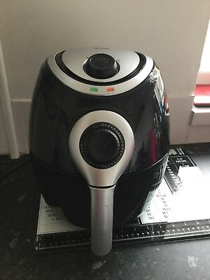 Swan Black Air Fryer SD90010N- 3.2L Healthy Low Fat Low Oil