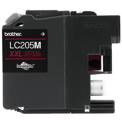 Brother Innobella LC205M 1200 Page Super High-Yield Magenta Ink Cartridge