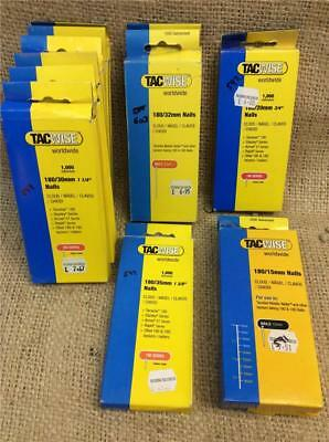 Clearance Lot Tacwise 180 Nails For Tacwise 180 Arrow Et + Any 18G Tacker Nailer