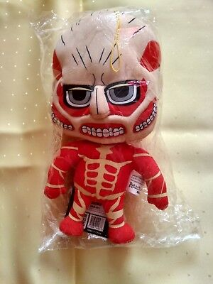 Attack on Titan Colossal Plush Doll Toy Horror Puppe