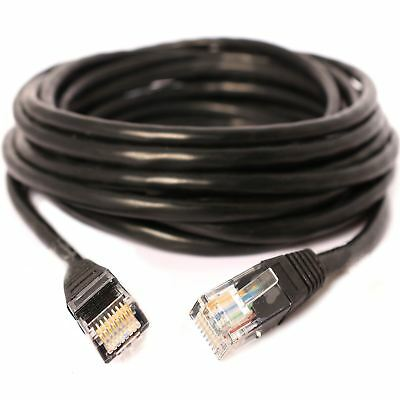 5M /16TF Network Cable Cat-6 Ethernet RJ45 Patch LAN Lead High speed cable Black
