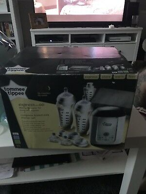 Tommee Tippee Express and Go Complete Breastmilk Starter Kit - BNIB