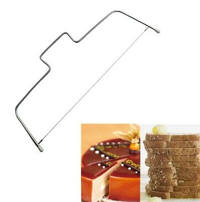 Cake Decorating Equipment Wire Cutter Adjustable Slicer Leveler Bread Tool
