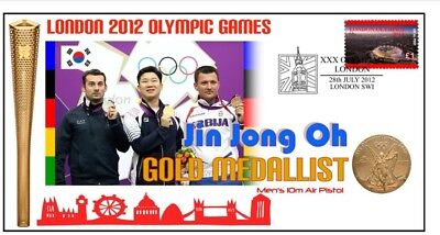 Jin Jong Oh Shooting 2012 London Olympic Gold Cover