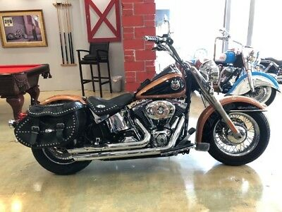 Softail  2008 Harley-Davidson Softail 105th ann heritage softail  factory numbered editio