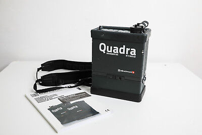 Elinchrom Quadra Power Pack with lith Ion lightweight battery