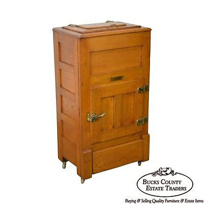 Garland Antique Golden Oak Ice Box