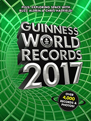 GUINNESS BOOK OF WORLD RECORDS 2017 Hardcover book Sports HB  gift guiness