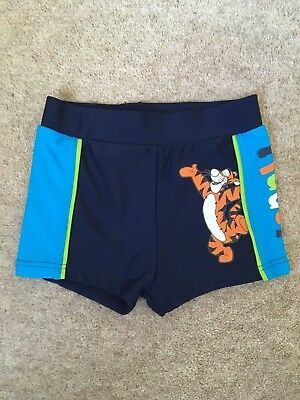 Boys Baby Disney Tigger Swimming Trunks Age 12-18 Months