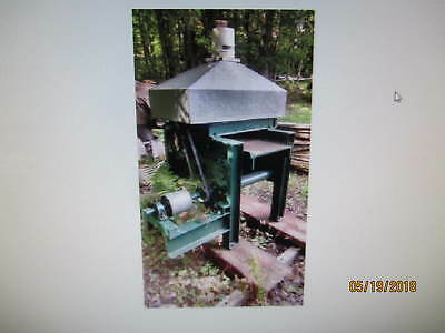 """Rare 18"""" Crabb Gas Engine thickness Planer, Single sided great condition"""