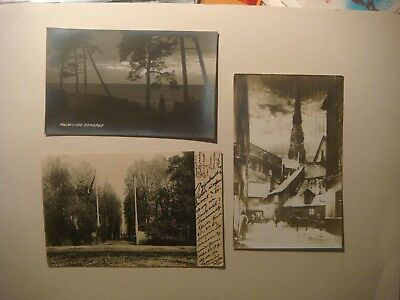Latvia.Lot of 7 pc's.Riga.Assern,Рижское взморье.RPPC's,Russian post