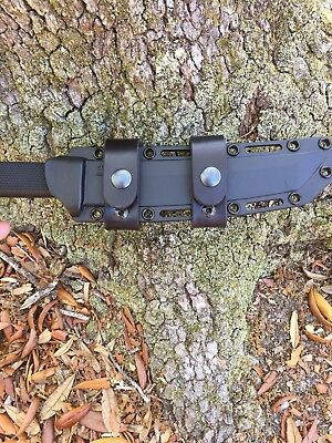 Cold Steel Recon Tanto Leather Scout Carry Straps No Sheath Or