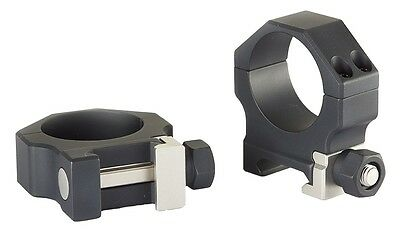 Buckeye Gen 2 30mm Picatinny Ring Clamps Matte Medium