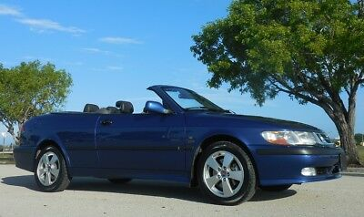 2002 Saab 9-3 SE Convertible 37,202 MILES~GORGEOUS ~COSMIC BLUE~ RARE FUN ONE~GARAGE KEPT/FLORIDA NONSMOKER~TURBO~HEATED SEATS~NONE NICER!!