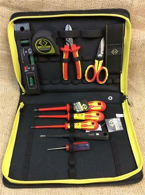 CLEARANCE LOT616 CK Tools 595002 - Electrician Core Tool Kit in Durable Wallet
