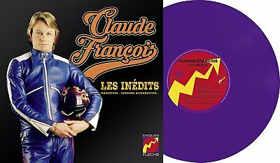 Claude François Les Inédits (Maquettes Versions Alternatives) 25cm Vinyle VIOLET