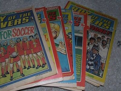 19  x ROY OF ROVERS Comics (18 from 1981 & 1 from 1978)