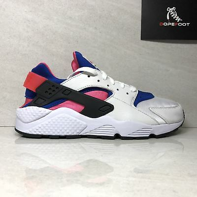 a803d56e41bcf Nike Air Huarache Run 91 QS AH8049 100 Men s Size 9.5 Size 11.5 White