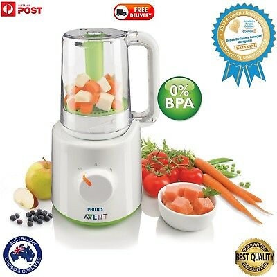 100% Orignal Avent Combined Steamer and Blender For Baby Food