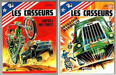 LOT LES CASSEURS n°2-3 ¤ SABOTAGE FORT-TEMPEST/OPERATION MAMMOUTH ¤ EO DARGAUD