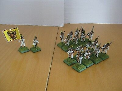 Old Glory 28 mm Napolenic 18 x Österreicher Füsiliere wie Perry Warlord Games