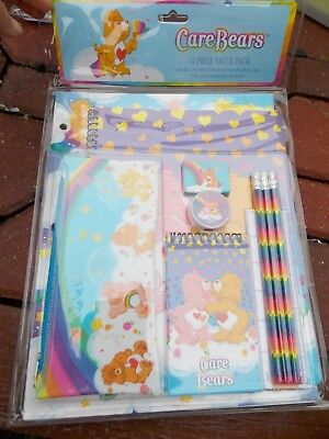 Care Bears Bear Stationery Set 11pc NEW IN PACKAGE 2003