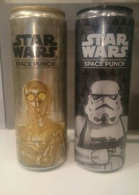 Star Wars Space Punch Édition Collector No.6/No.7 0,355L neuves