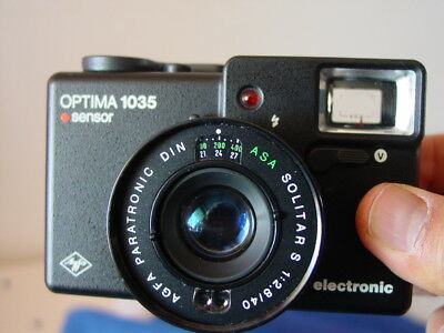 Agfa Optima 1035 35mm Kompaktkamera