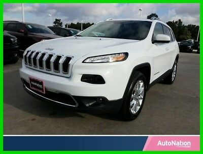 Jeep Cherokee Limited 2017 Limited Used 2.4L I4 16V Automatic Four Wheel Drive SUV