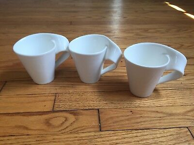 Villeroy and Boch New Wave Mugs-  Set Of 3