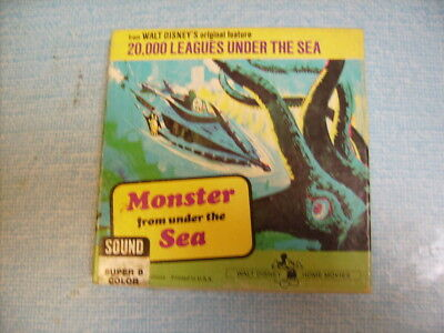 MONSTER FROM UNDER THE SEA  8 minutes  -  COLOUR SOUND.
