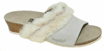a8f18ff82800 Birkenstock Papillio Women s Amber Sandal Cozy Offwhite Style 1007283