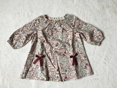 ***BNWT Next baby girl Ditsy printed cotton dress 6-9 months***