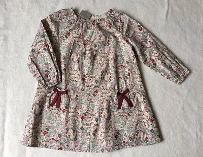 ***BNWT Next baby girl Ditsy printed cotton dress 9-12 months***
