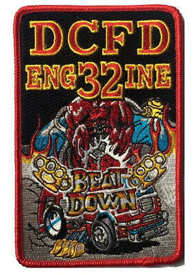 """Dcfd Engine 32 """"beat Down"""" New May 2018 (District Of Columbia) Fire Patch"""