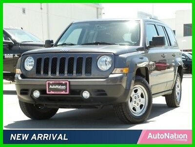 Jeep Patriot Sport 2017 Sport Used Certified 2.4L I4 16V Automatic Four Wheel Drive SUV Premium