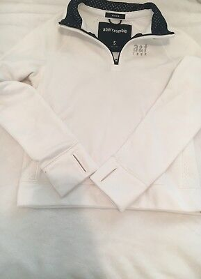 Abercrombie & Fitch  Boys Sweater White
