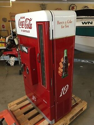 Vintage Coca Cola Coke Vending Machine Antique