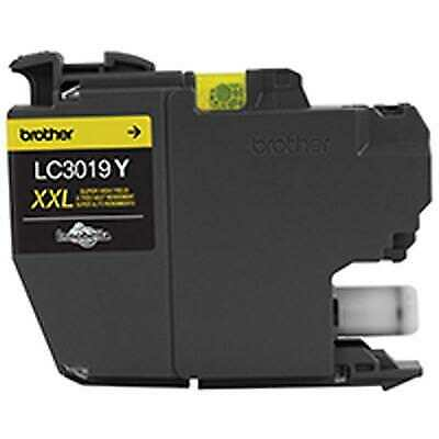 Brother Innobella LC3019Y 1500 Page Super High-Yield Yellow Ink Cartridge
