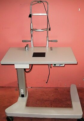 Haag Streit BQ900, BX900 Slit Lamp Table with Power Supply and Back