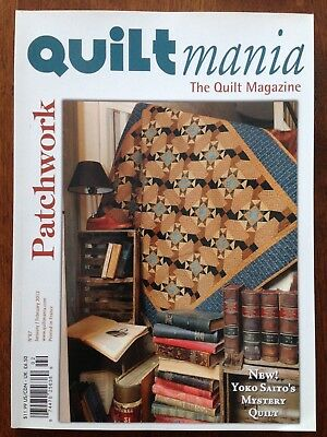 QUILTmania Magazine, Patchwork, No. 87, 2012, Pre-owned
