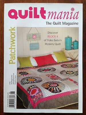 QUILTmania Magazine, Patchwork, No. 90, 2012, Pre-owned