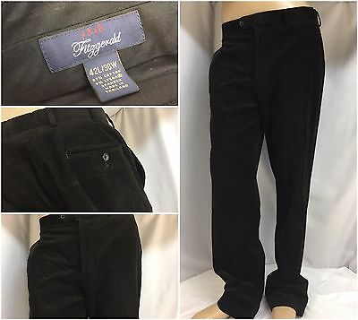 Brooks Brothers Fitzgerald Pants 36x32 Brown Cotton Lycra Cord Mint YGI 3780