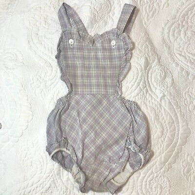 Vintage JCpenny Baby Heart Romper 2t