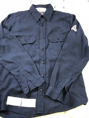 Bulwark Nomex IIIA Flame Resistant 4.5 oz. Button Front Deluxe Shirt Lightweight
