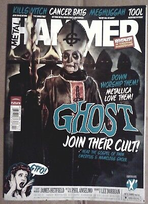 GHOST - Metal Hammer Magazine - April 2012 - Papa Emeritus on Cover