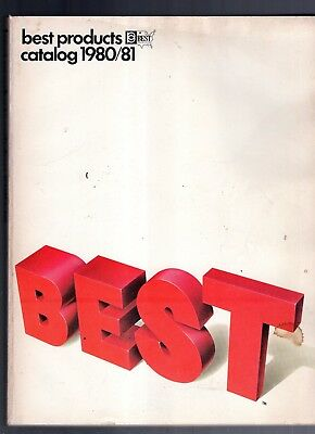 1980/81 Best Products Catalog-Jewelry-Toys-Complete-480 Pages-Very Rare