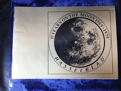 NASA Hasselblad 10 Years on the Moon Booklet 1969-1979