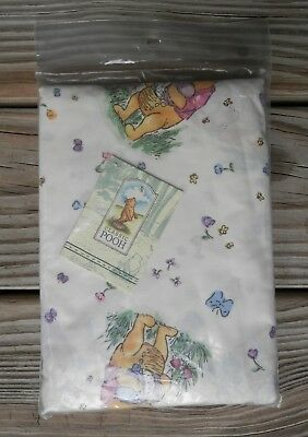 New Disney Classic WINNIE THE POOH his Hunny Honey Pots Fitted Crib Sheet