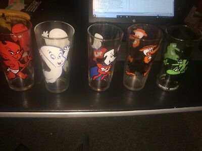 5 Vintage Hard To Find Pepsi Collector Series Glasses All Different Wow
